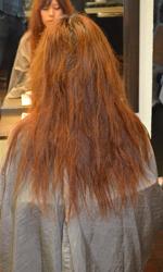髪質改善トリートメント工程